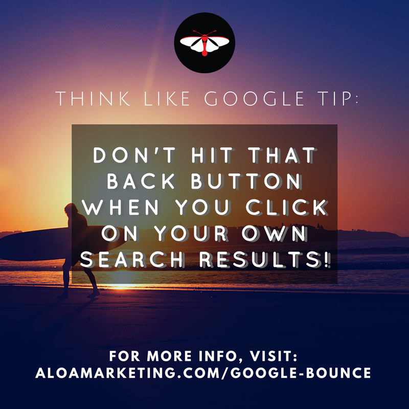 Google Bounce Rate - Tips